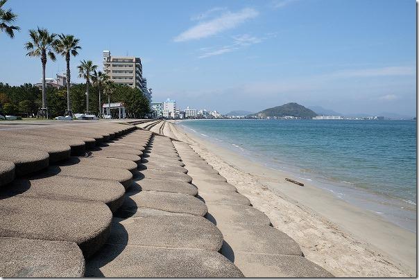 長垂海浜公園と海