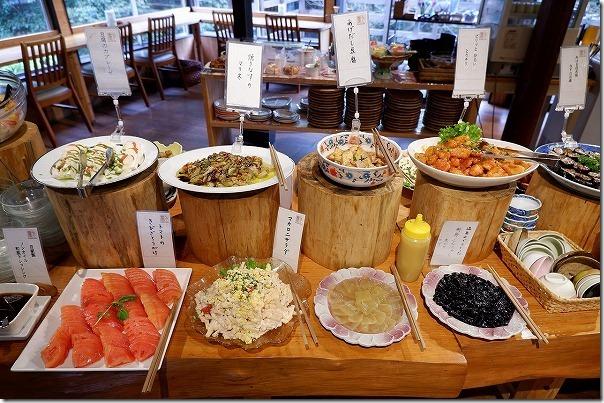 バイキングレストラン農(みのり)の料理の種類