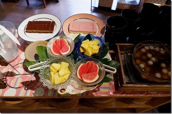バイキングレストラン農(みのり)のデザートの種類