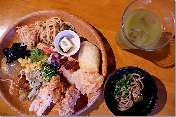 バイキングレストラン農(みのり)の料理