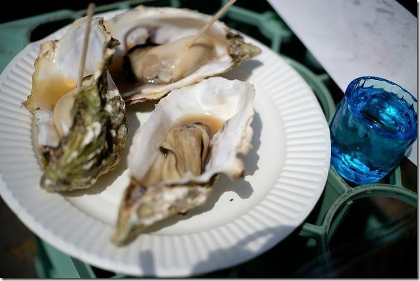 白糸酒造の蔵開き,糸島の牡蠣