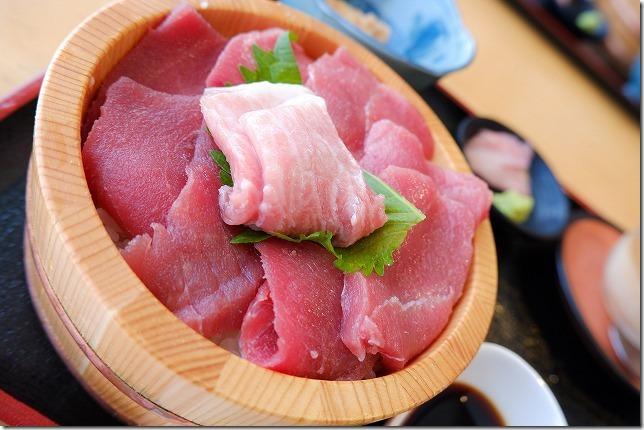 糸島食堂のクロマグロ丼