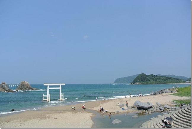 福岡糸島 二見ヶ浦の景観