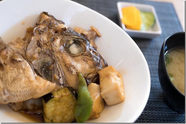 ごはん屋 朔の鯛のあら炊き定食