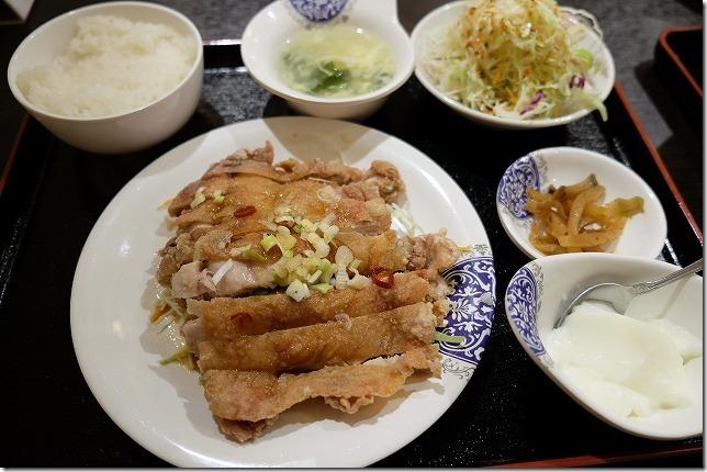 糸島・中華料理、香香、定食