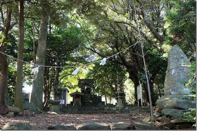可也神社,可也山登山道