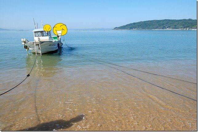 糸島,初音旅館で地引網・船