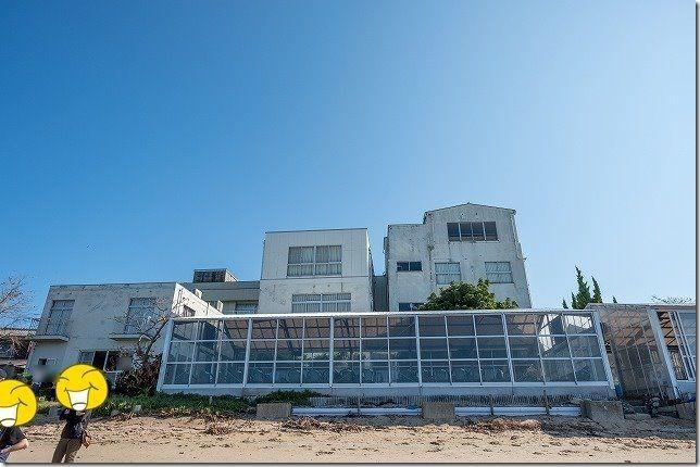 糸島,初音旅館のバーベキュー会場