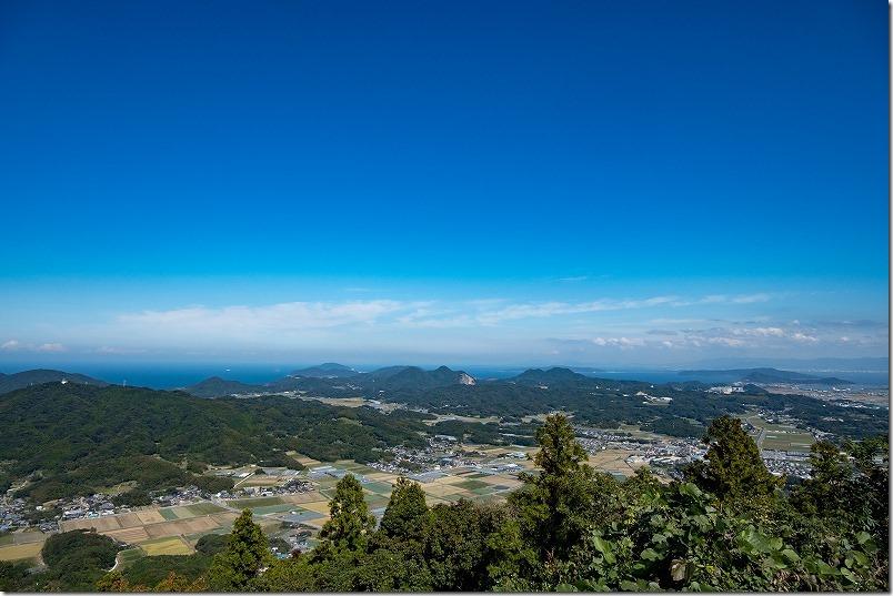 糸島,可也山,山頂,展望台