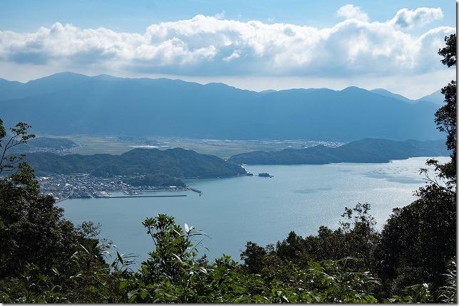 可也山から加布里漁港
