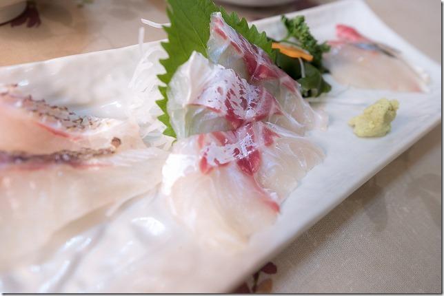 マルタ活魚のお刺身,糸島加布里
