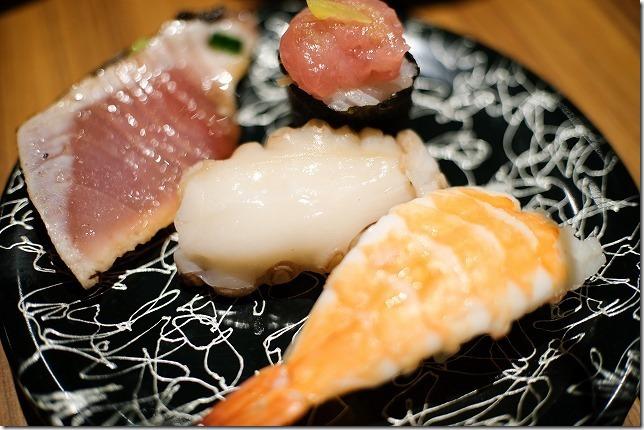 「ヒナタの杜 小戸の湯どころ」のビュッフェでお寿司
