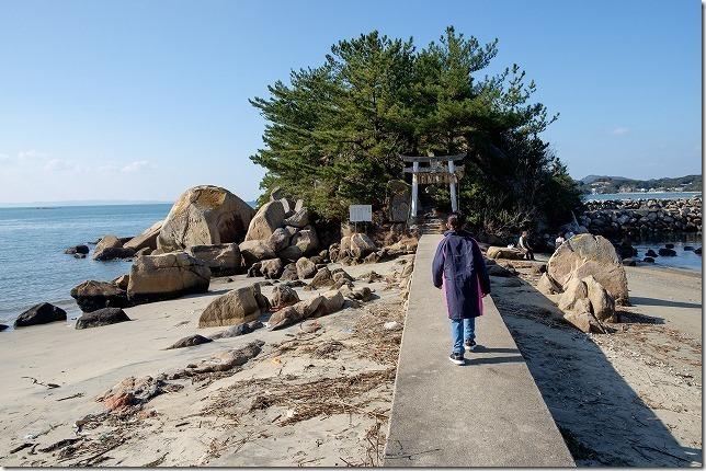 箱島・箱島神社への橋