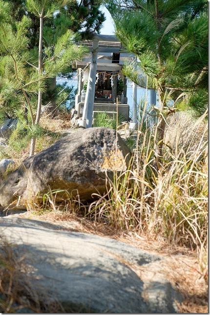 箱島・箱島神社の祠