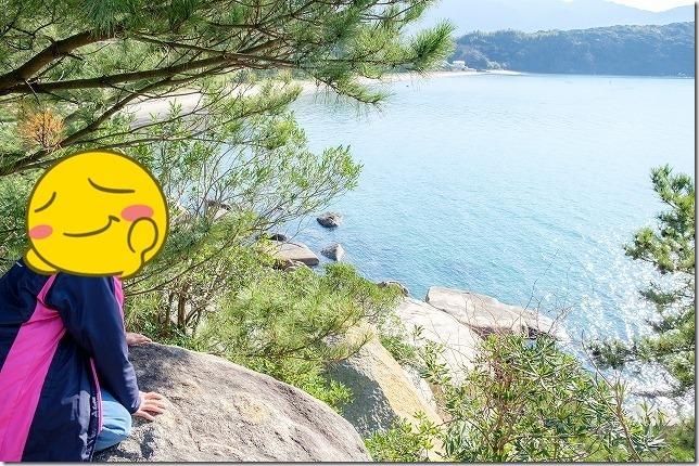 箱島からの眺め