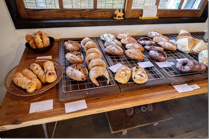 糸島・桜井にあるパン屋「のたり」、パンの種類・メニュー