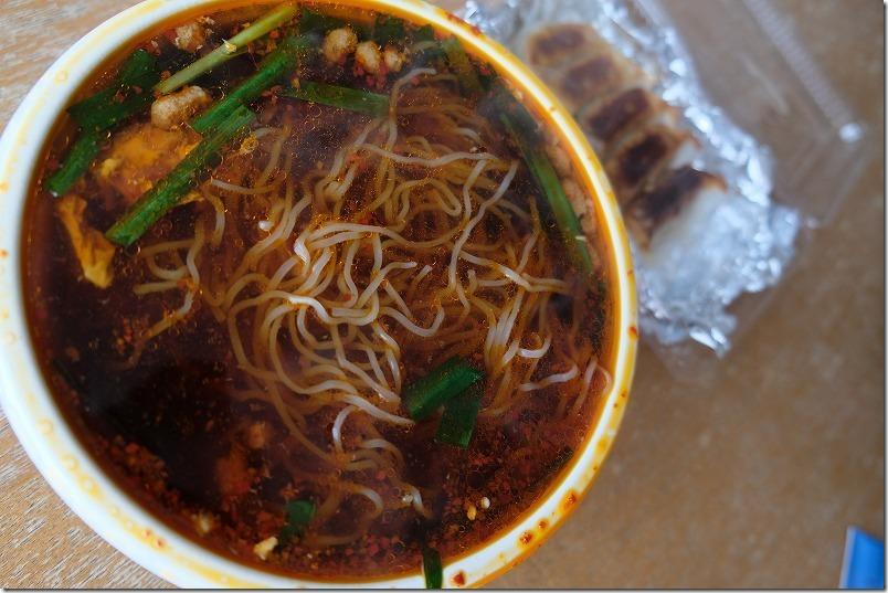 「ちぢれ麺」を入れた元祖辛麺