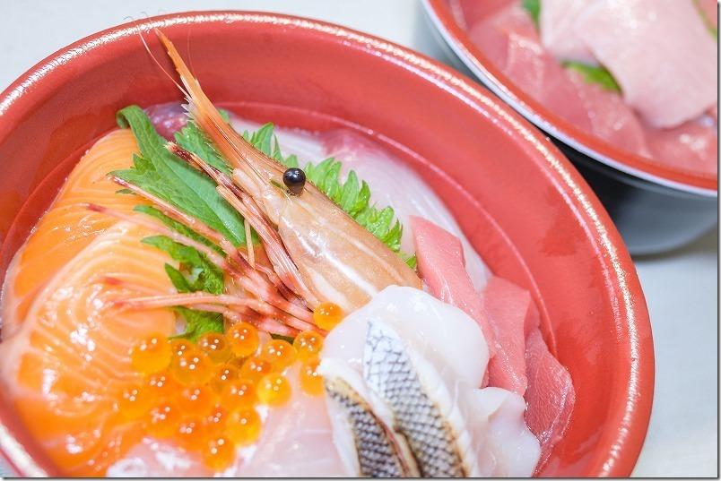糸島食堂(福岡市西区)で海鮮丼をテイクアウト