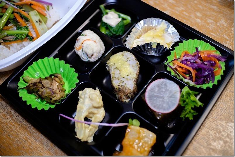 ダンザパデーラで糸島野菜たっぷりのお弁当、品数いっぱい