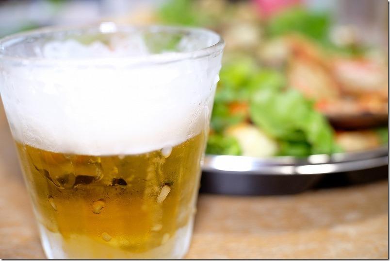 ダンザパデーラのオードブルで家飲み、冷えたビール