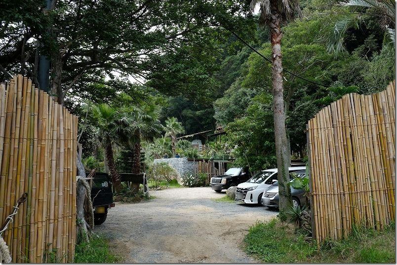 糸島キャンプ場,HIDEAWAY,sunset,campの駐車場