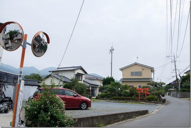 糸島でキャンプHIDEAWAY,sunset,campのキャンプ場受付「Cafe in ふくゐ」