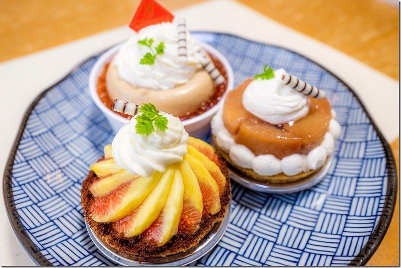 いちじくタルト(とよみつひめ)のケーキ