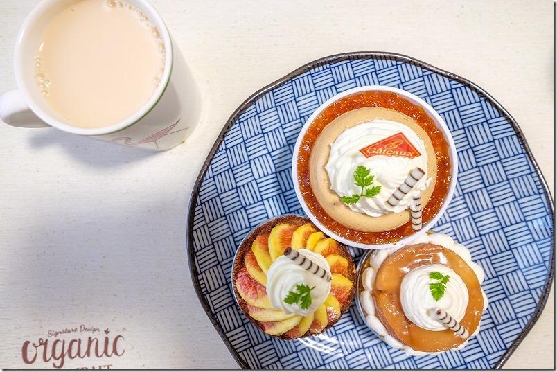 限定紅茶ケーキとりんごのタルト、糸島T.stern
