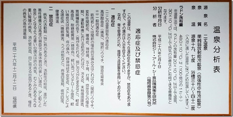 糸島、二丈温泉「きららの湯」,泉質