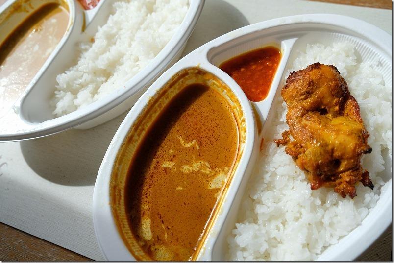 今宿インド料理サプナのカレー、テイクアウト