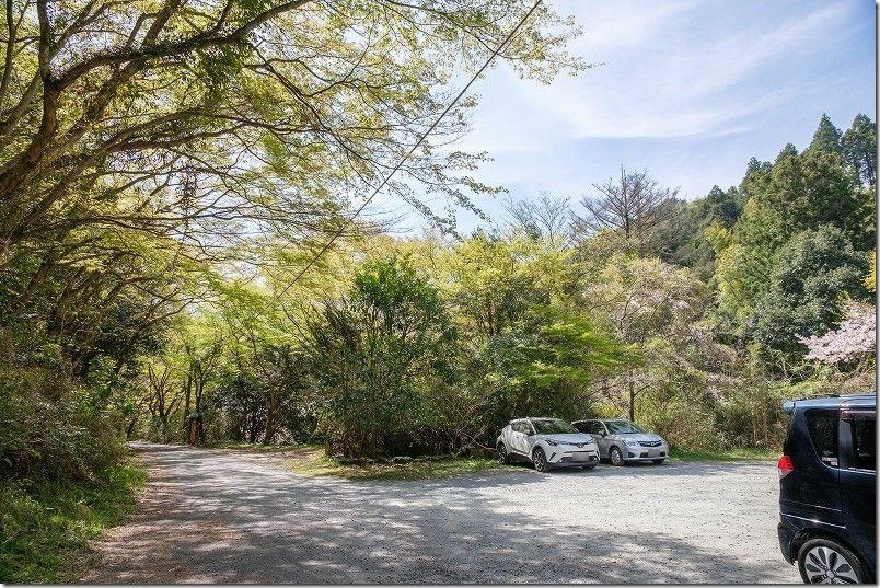 曲渕ダム公園の駐車場