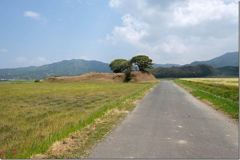 糸島こころ旅のゴール、井原1号墳