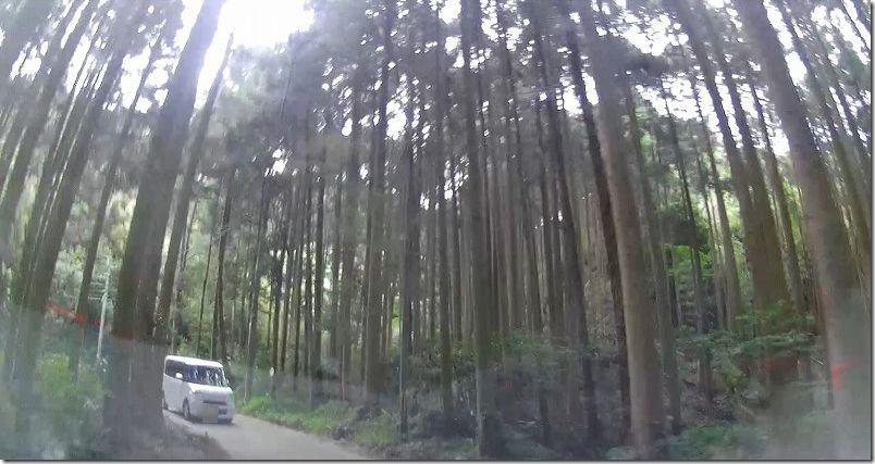 糸島・千寿院の滝へのアクセス・道(山道)