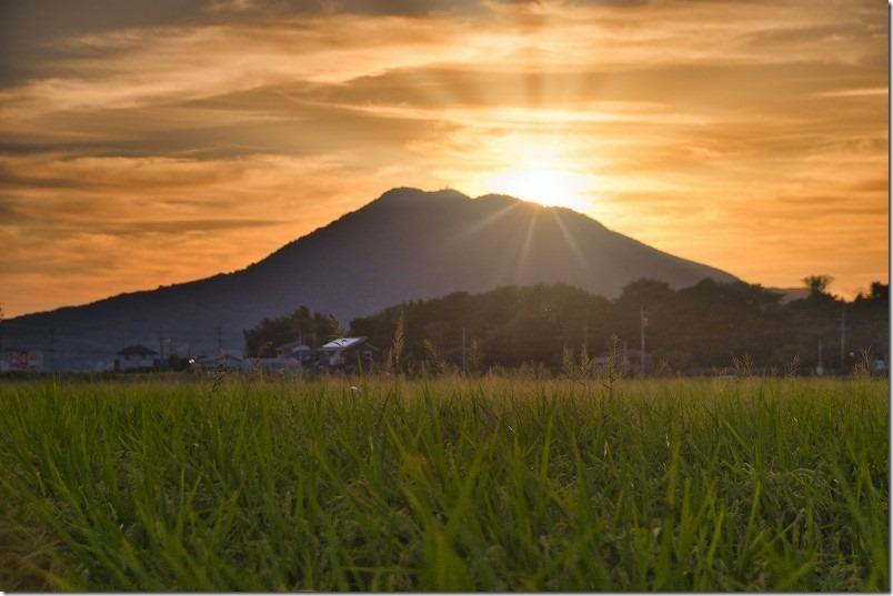 ダイヤモンド糸島富士(可也山)